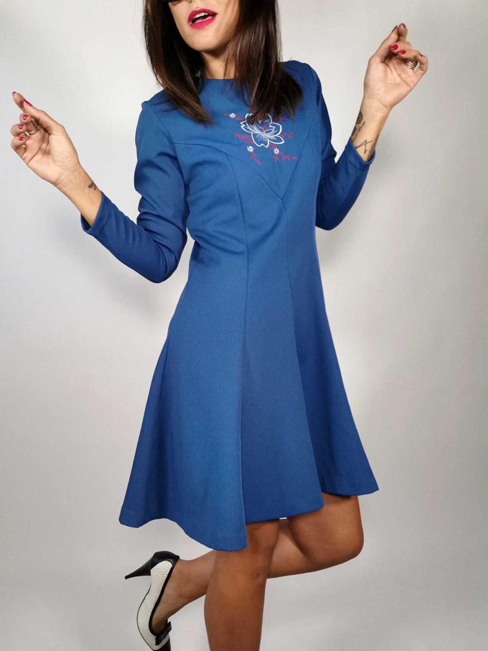 abito donna vintage trevira