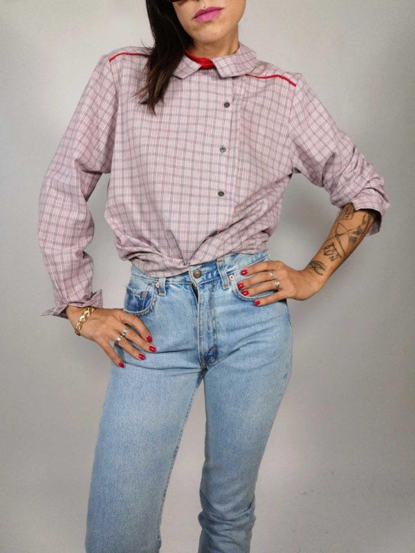 camicia donna vintage Miroglio Tessile
