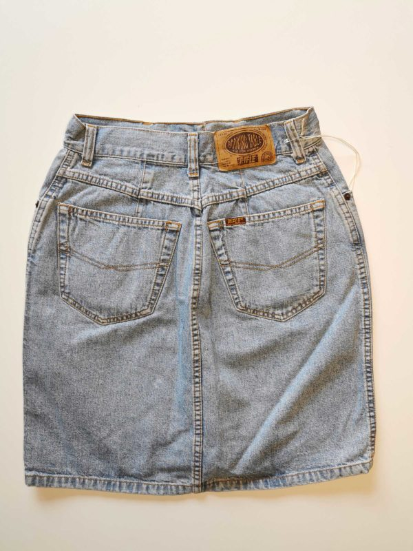 GONNA VINTAGE JEANS RIFLE ORIGINALE 90