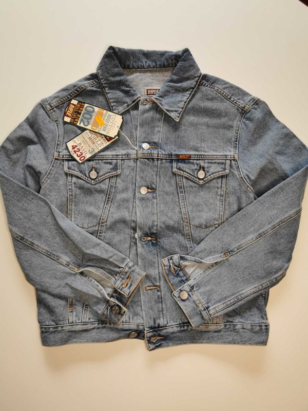 giacca jeans rifle vintage anni 90