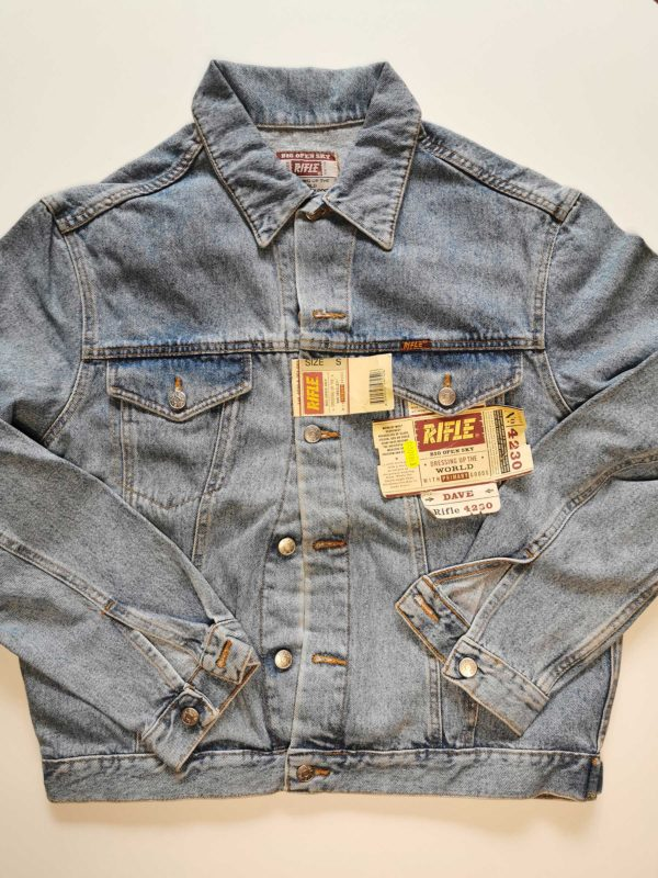 GIACCA JEANS RIFLE VINTAGE ORIGINALE ANNI 90