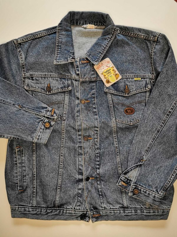 GIACCA JEANS VINTAGE ANNI 80 ORIGINALE MADE IN ITALY