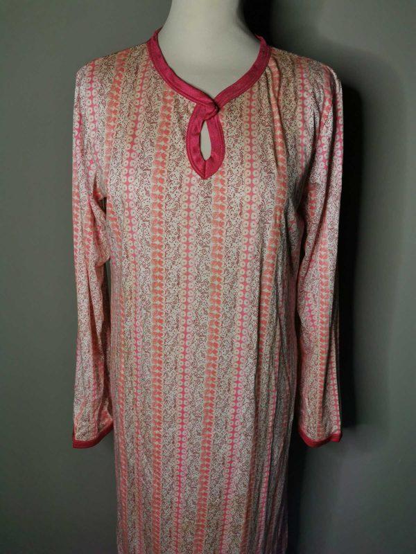 camicia da notte vintage originale anni 70 made in Italy