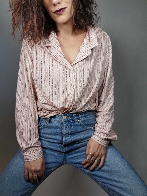 camicia vintage originale anni 80 made in Italy